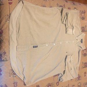Vintage Men's size XXL Ralph Lauren Dress Shirt